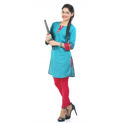 e70b01b14bb03 Vami Womens Cotton Churidar (Extra Length) Leggings - Bhalei